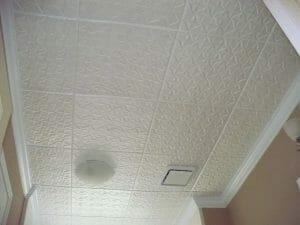 R-55 polystyrene ceiling tiles