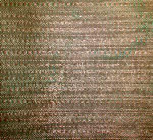 Patina Copper Backsplash