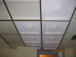 2x2 Suspended PVC