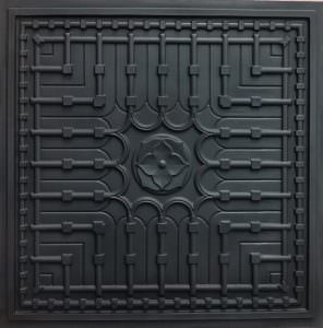 Faux Black Ceiling Tiles  24x24