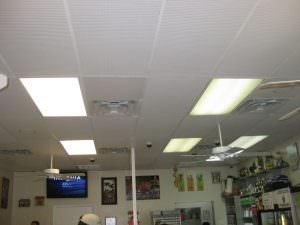 Suspended ceiling tiles AFTER