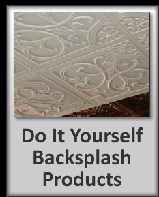 Blog on ceiling tiles back splashes projects with them for Do it yourself kitchen backsplash