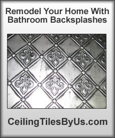 Remodel With Bathroom Backsplashes