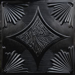 Black Ceiling Tile 2x2