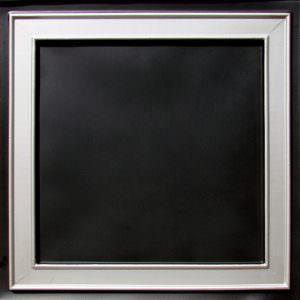 Faux Black Silver