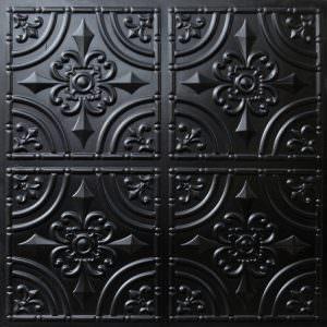 Faux Black Tile