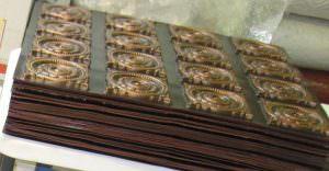 Faux 2x2 Antique Copper