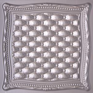 Tin Silver 2x2  PVC