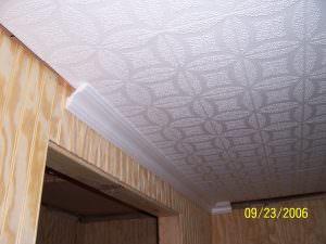 Styrofoam Molding Styrofoam Tile Install