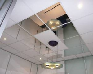 Glass Less Mirror For Ceiling Walls Ballroom Dance Studio Automotive Showrooms