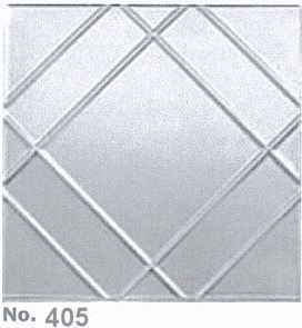 Coated Aluminum Ceiling Tiles 2x2