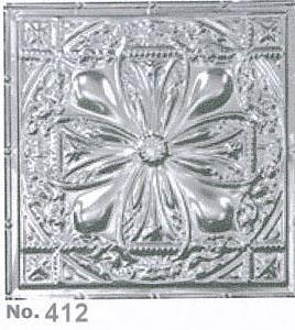 Metal 2x4 Nail Up Ceiling Tile Ceramic