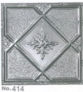 Coated Aluminum Ceiling Tile or Backsplash
