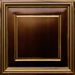 Grid Suspended Ceiling Tiles 24 x 24 Antique Gold