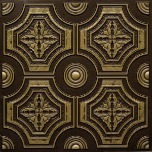 Faux Antique Brass 2x2