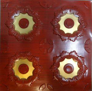 Glue Up PVC ceiling tiles2x2