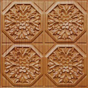 Teakwood  Ceiling Tiles 2x2 GLUE UP