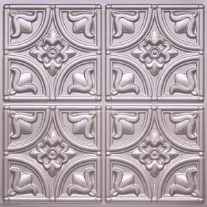 Tin Silver Plastic Ceiling Tiles