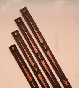 Grid Strip for Suspended Ceiling Antique Copper