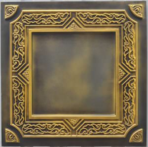 Faux Antique Brass New PVC Make Believe