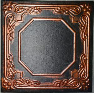 R-32 Black Copper Styrofoam Tile
