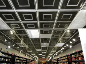 208 Grid Install 2x2 Drop Ceiling Tile