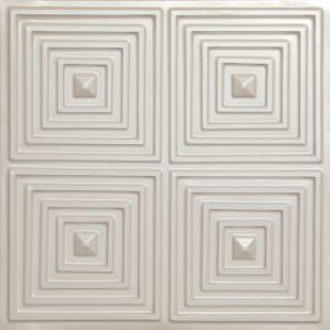 Plastic Vinyl tile 2x2