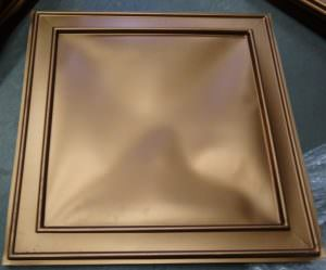 DROP IN TILE 2x2 PVC COPPER