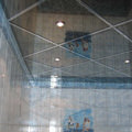Grid tile mirror install