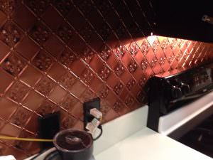 Backsplash PVC INSTALL