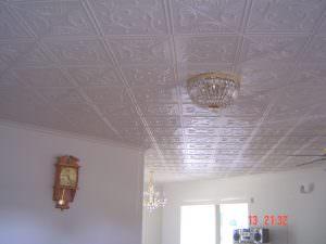 Styrofoam Install in Livin Groom