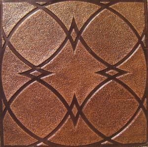 Woodcut PVC Ceiling Tiles