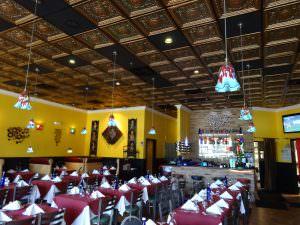 Restaurant Ceiling Tile Grid