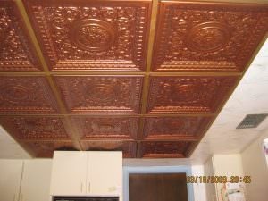 Kitchen Ceiling Tile Drop In