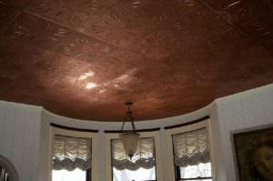 DIY Project Install Copper Color Painted