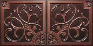 Faux Antique Copper 2x4 PVC