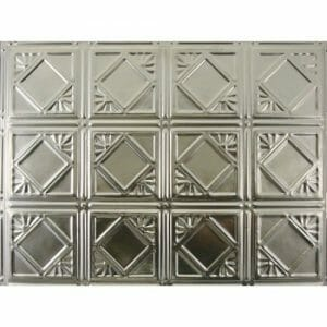 Kitchen Metal Backsplash 18x24