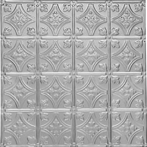 Victoria Tin Silver - Ceiling Tiles By Us Princess Victoria 0604 Aluminum Ceiling