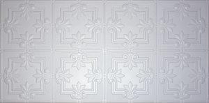 Washable drop ceiling tiles
