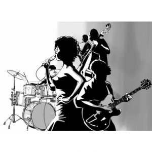 Jazz Singer with Band