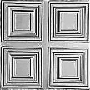 Tin Plated Steel Panel Classic 1211 LINCOLN SQUARE 2 x 2 Pattern 12