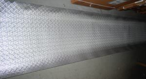 Silver PVC Backsplash 21ftx2ft