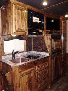 Motor Home Backsplash Install