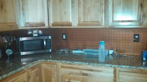 Kitchen Back Splash Copper Decorative Kitchen Backsplash