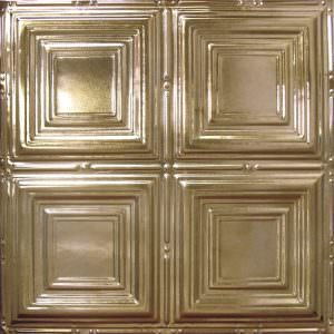GOLD METAL CEILING TILES