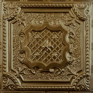 Gold Metal Ceiling At Tile 29
