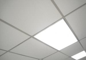 Melt Away Foam Commercial Ceiling Tile