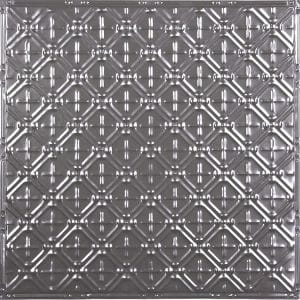 "3"" x 3"" Pattern on 24"" x 24"" Metal Ceiling Tile"