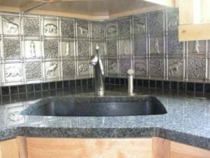 Kitchen backsplash Install 0512