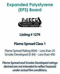 Melt Away Foam Ceiling Tile Fire Rating